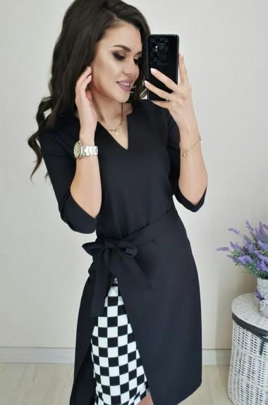 Стильное деловое платье YBY-513