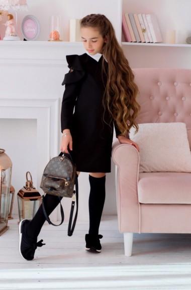 Детское школьное платье KL-421