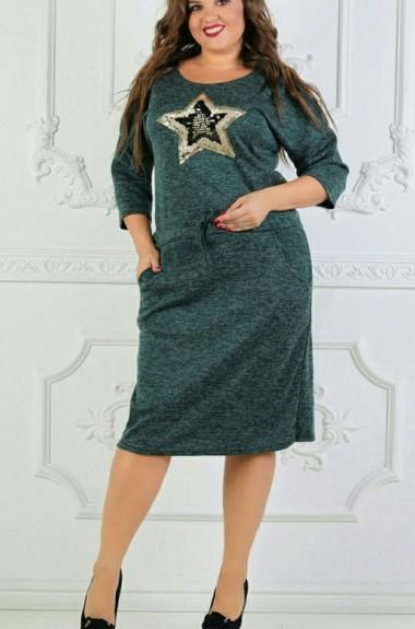 9cd00c92deb Зимние платья большого размера