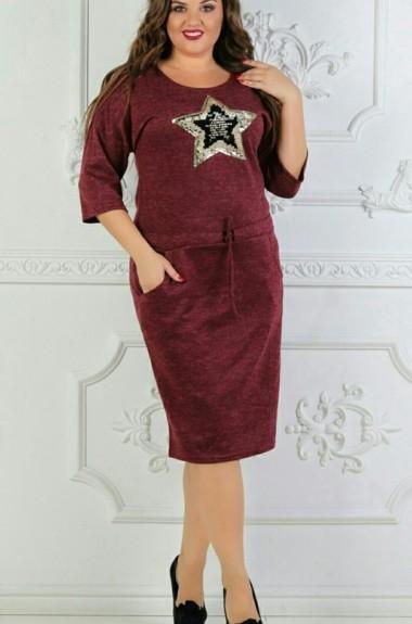 Женское платье миди ALG-654