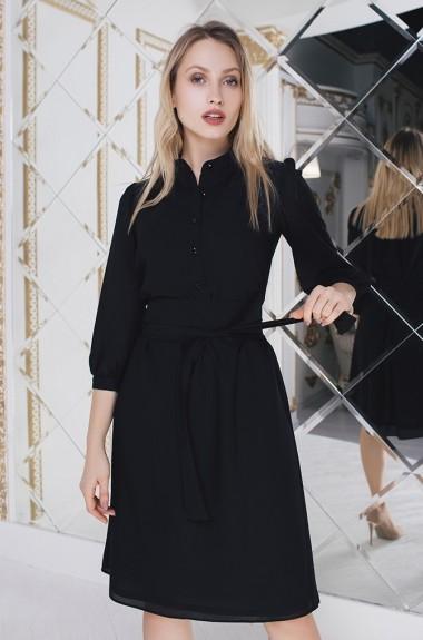 Модное шифоновое платье IVP-3113