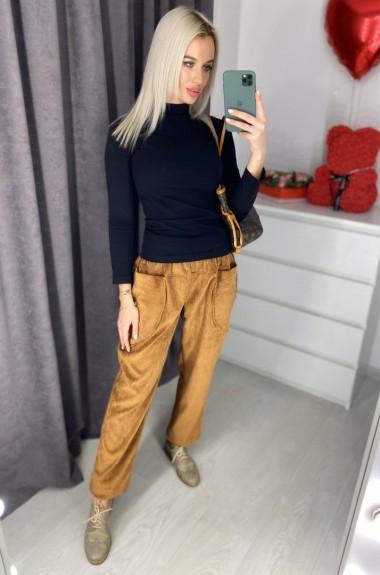 Вельветовые штаны женские VEN-0196A12B14