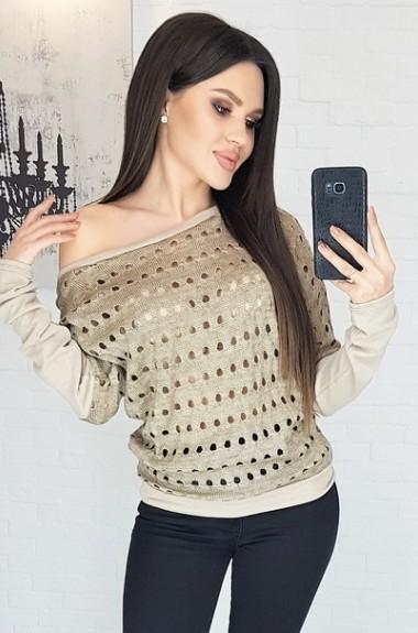Красивый оригинальный свитер LB-5066A9
