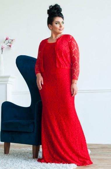 Длинное платье с болеро DG-c430