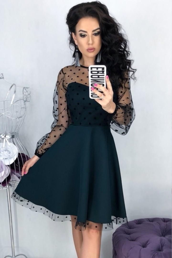 Нарядное женское платье EFR-314