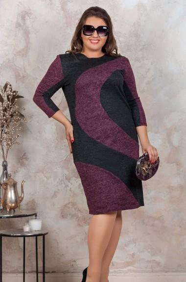 Платье по фигуре с рукавом SIM-A7144A21