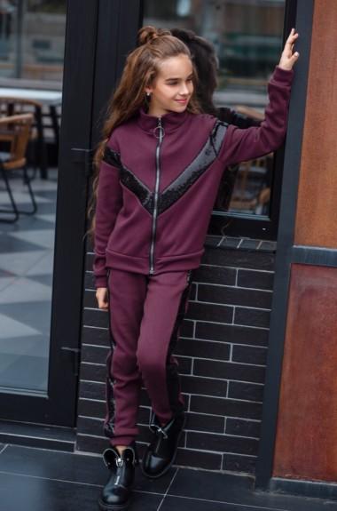 Детский спортивный костюм утепленный KL-435