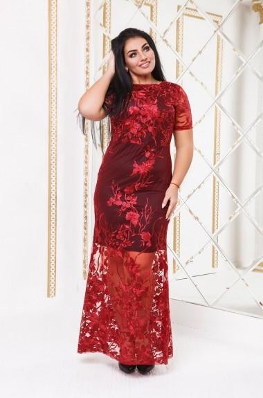 Ажурное вечернее платье DG-d41176A800