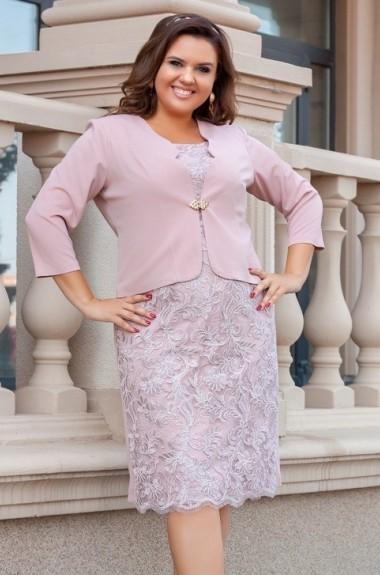 Женский костюм: платье с пиджаком AO-1927A480