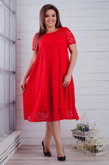 Красивое гипюровое платье SIM-S8260