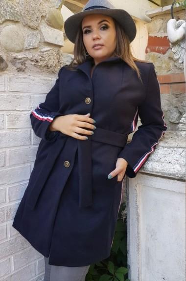 Пальто с лампасами YM-5037A27B28