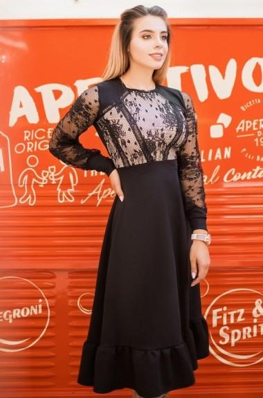 Нежное платье миди YM-5039A18