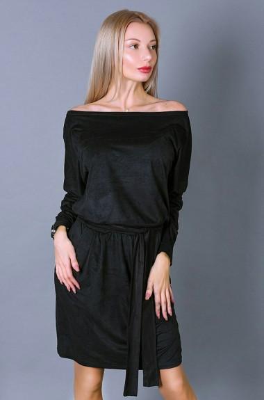 Женское замшевое платье VM-9151