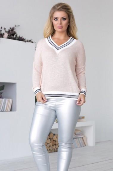 Нежный свитер KR-383