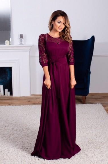 Эффектное вечернее платье ALL-1018