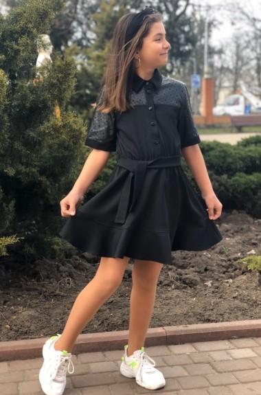 Детское платье на пуговицах MMS-768A330