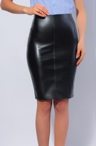 Облегающая кожаная юбка KRV-058A220