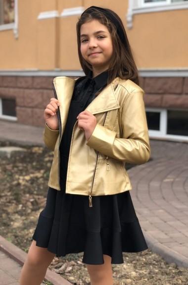 Детская кожаная куртка косуха MMS-662A500