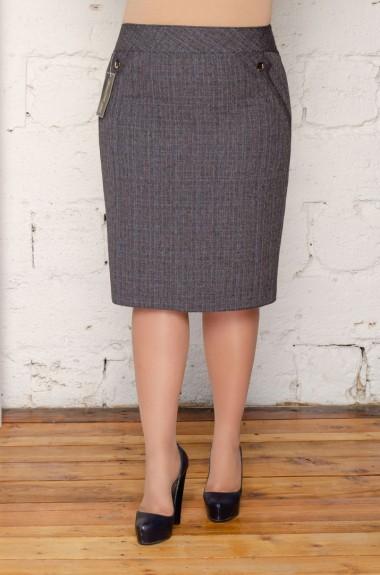 Юбки женская офисная SVK-1702201A200