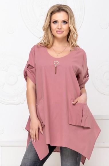 Женская блузка туника YYA-1070A300