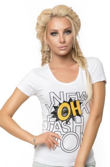 Красивая модная футболка SML-290719A150