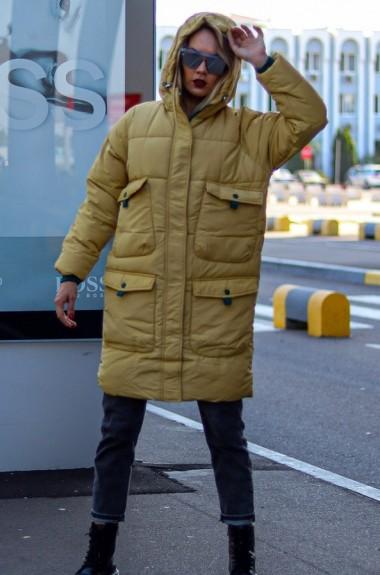 Куртка-пальто с капюшоном AR-8075A37
