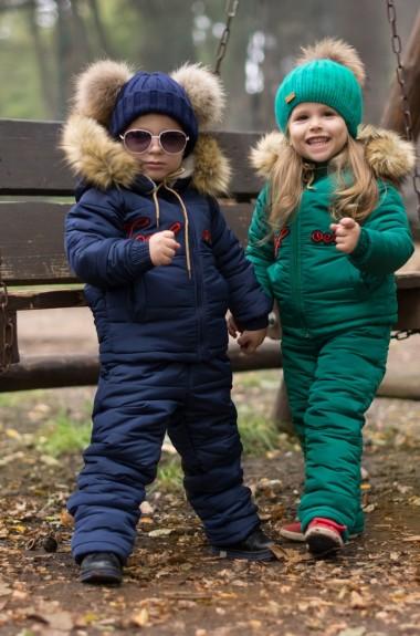 Детский комбинезон с курткой EV-1818