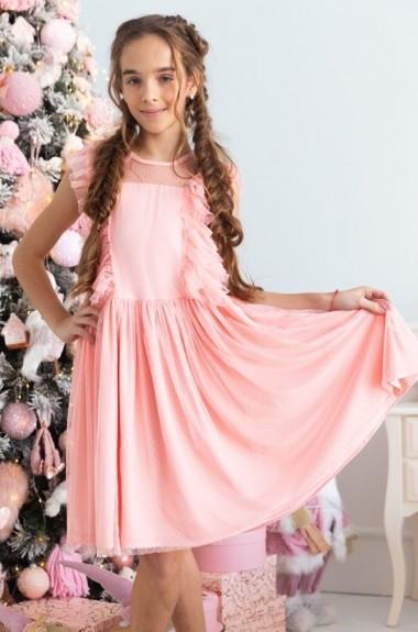 Воздушное платье для девочек KL-531A420