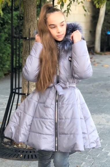 Стильная куртка с мехом KL-255A590