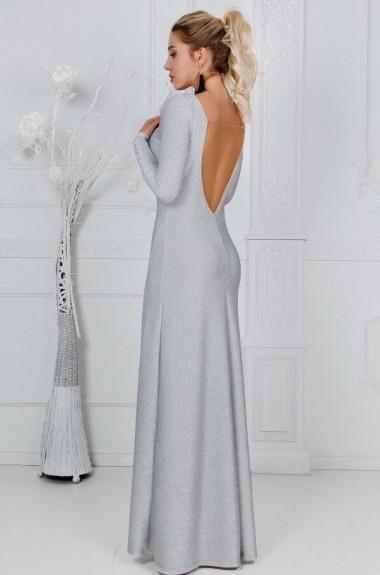 Платье в пол с открытой спиной KL-310A500