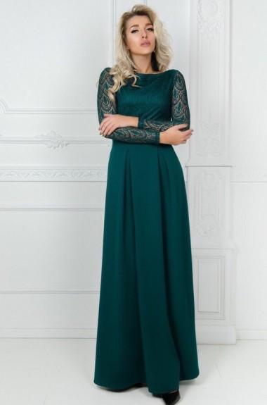 Платье в пол с открытой спиной KL-309A450