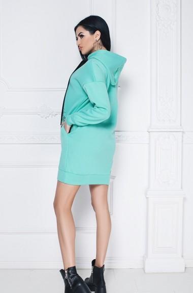 Спортивное платье с капюшоном IVP-3057