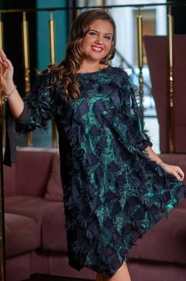 c2d4859639c Весенне-осенние платья большого размера - 5 страница