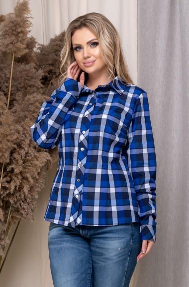 Модная рубашка в клетку JAV-5166A11