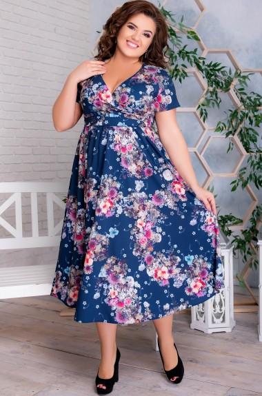 Красивое платье миди MA-N876A450