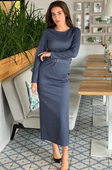 Элегантное трикотажное платье VT-131019A210