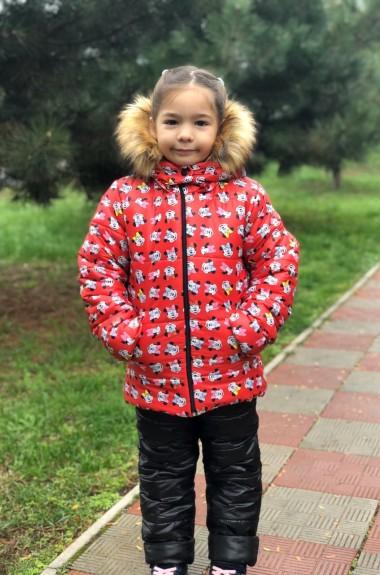 Детская курточка с комбинезоном MMS-765А865