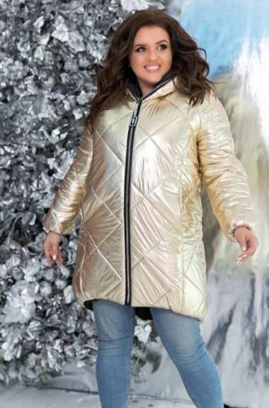 Длинная двухсторонняя куртка YM-05134A30
