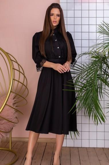 Расклешенное платье миди YM-5159A21B22