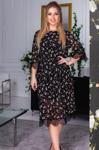 Красивое шифоновое платье YM-5164A22B23