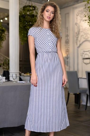 Летнее льняное платье DG-c561A350