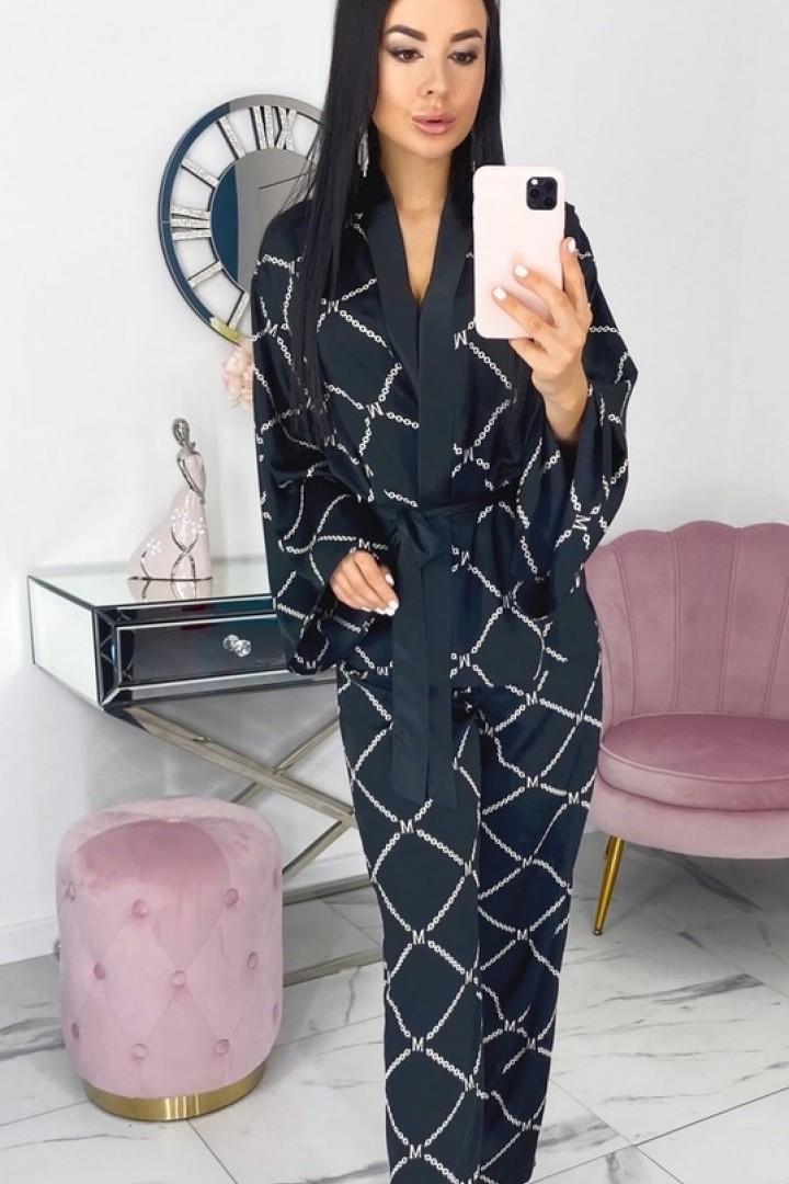Шелковый костюм женский EFR-537A16