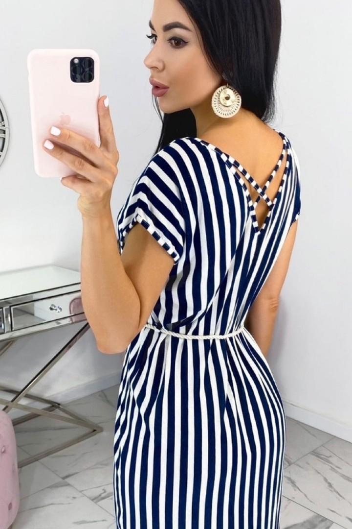 Женское платье в полоску EFR-534A8