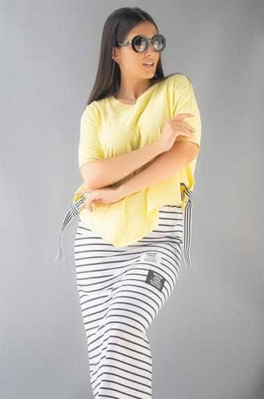Костюм юбка и футболка IS-859A23