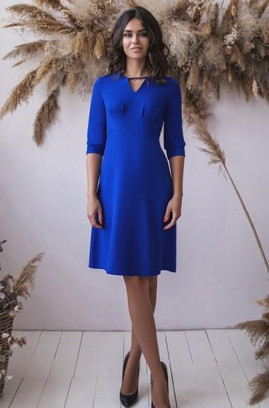 Однотонное платье с рукавом IVP-3114A13.5