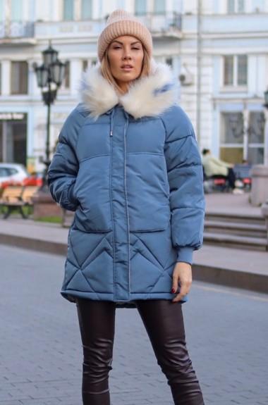 Дутая куртка с капюшоном AR-1902A29