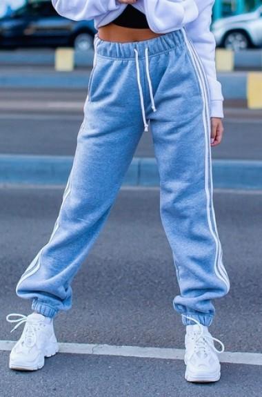 Спортивные штаны с лампасами AM-4228A12.1