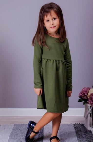 Однотонное детское платье SIM-S2007A10