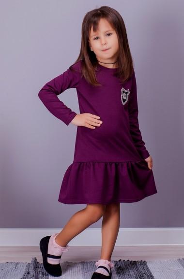 Детское трикотажное платье SIM-S2006A11