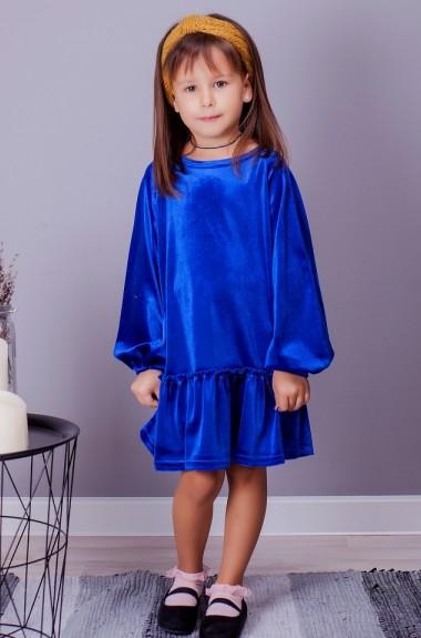 Детское бархатное платье SIM-S2002A11